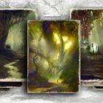 Elfi e rituali nella foresta